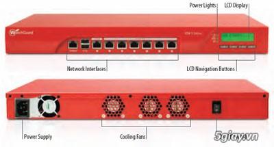 Thiết bị Firewall/Router chuyên dụng Watchguard XTM515 chịu tải cao.