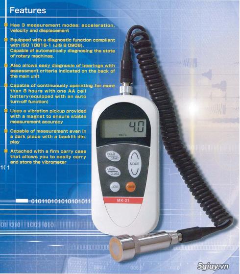 Máy đo độ rung Checkline MK-21