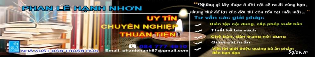 Tư vấn cấp phép, xuất bản Sách - Nhà xuất bản Thuận Hóa