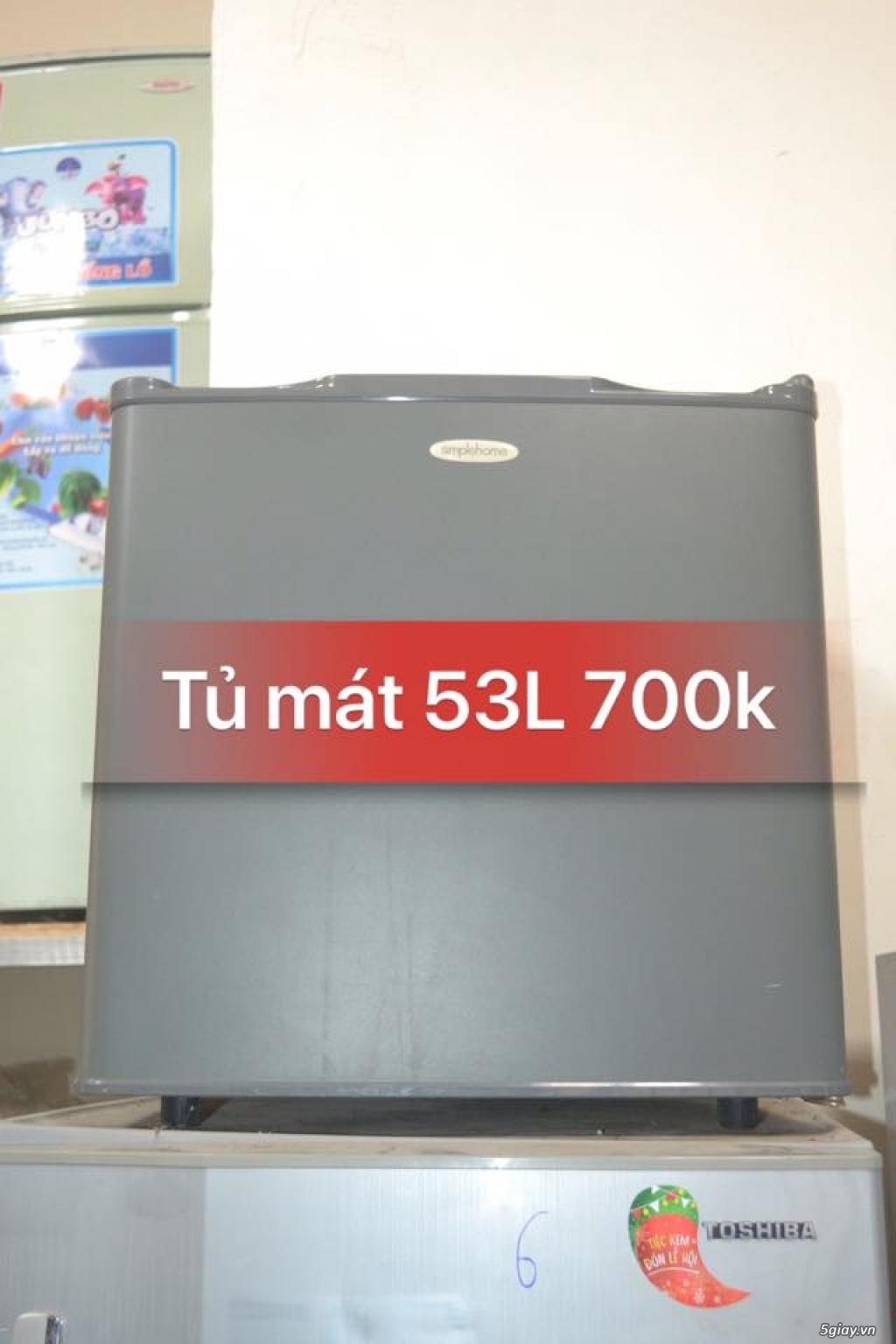 Thanh lý tủ mát Simplehome 53L new 85% zin 100% - 1