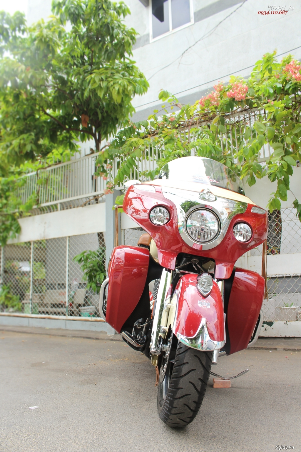 ___ Can Ban ___INDIAN Roadmaster Classic 1800cc ABS 2018 Keyless___ - 5