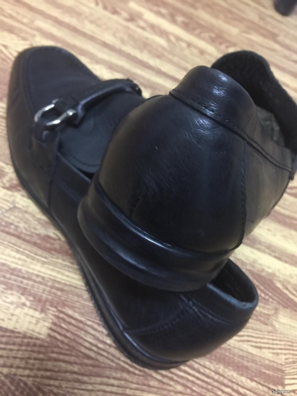 Giày lười nam da bê S.Ferragamo chính hãng 100% size 40-41vn. - 2