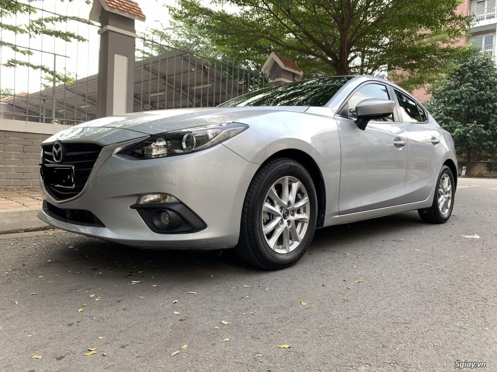 Cọp Mazda 3 2015 1.5 AT xe trùm mền giá hạt dẻ