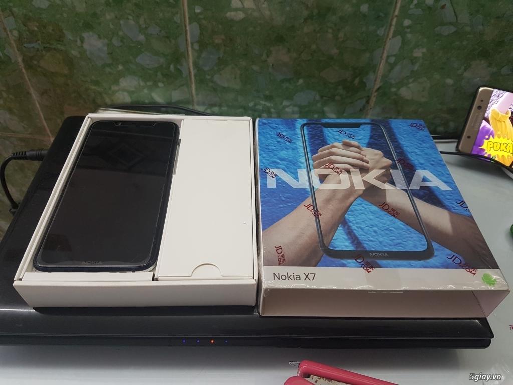 Cần bán em Nokia X7 mới 99.99% hộp full phụ kiện - 4