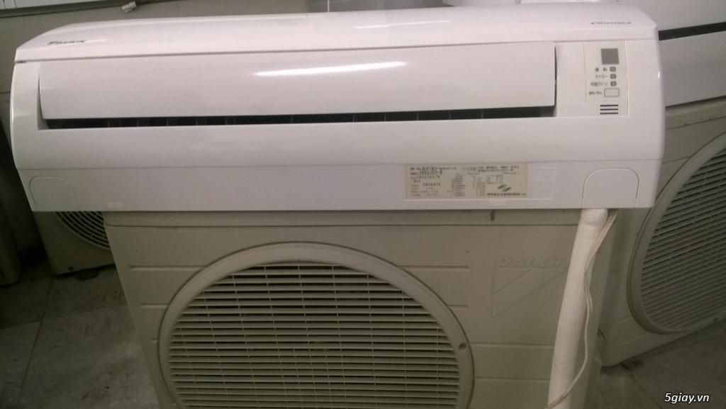 máy lạnh daikin inverter 1hp nội địa nhật mới 90% - 1