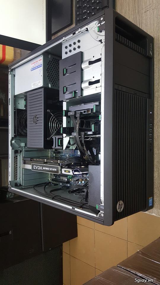 HP z440: E5-2678v3, DDR4 16GB ECC, SSD 240GB, GTX1070 8GB