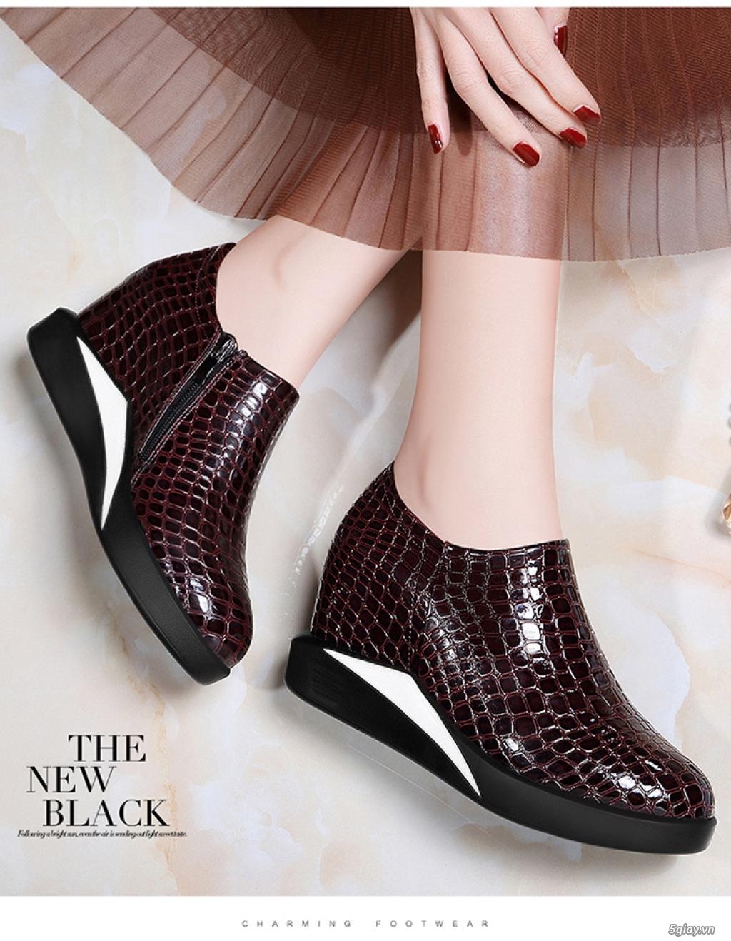 Giày nữ tăng chiều cao chất lượng tphcm - 1