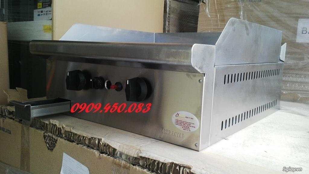 Bếp-chiên-mặt-phẳng-GG2B - 2 họng bếp - Full inox - 4