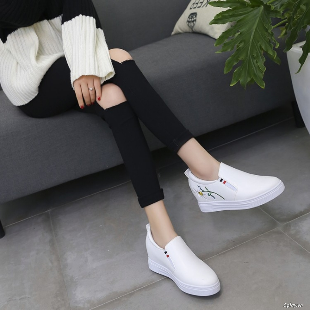 Giày nữ tăng chiều cao chất lượng tphcm - 4