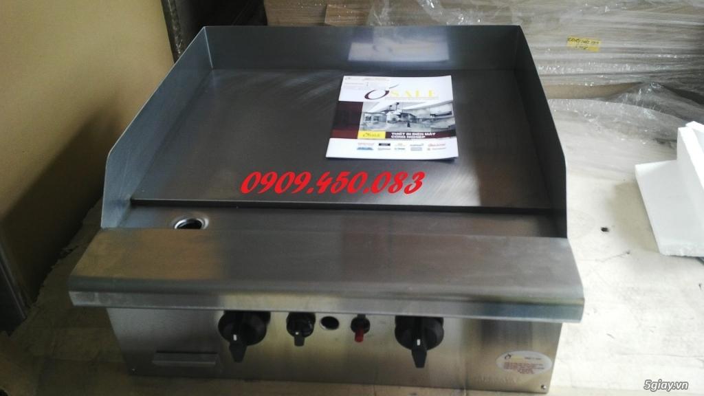 Bếp-chiên-mặt-phẳng-GG2B - 2 họng bếp - Full inox