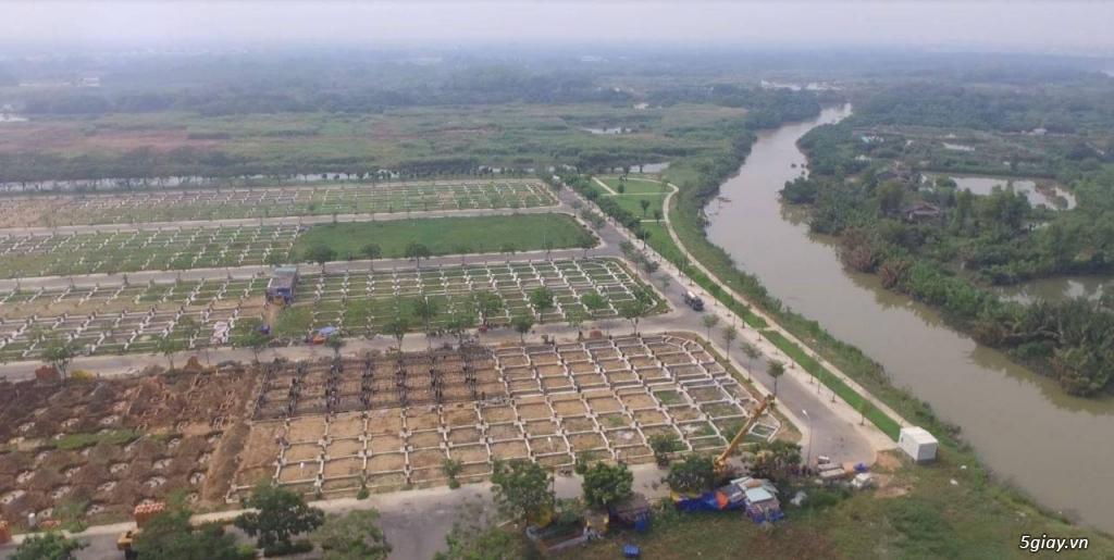 Đất thổ cư 100%  cạnh GS MeTro City Nhà Bè - Giá 21tr/m2. - 1