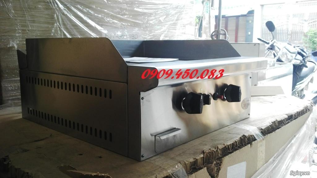 Bếp-chiên-mặt-phẳng-GG2B - 2 họng bếp - Full inox - 1