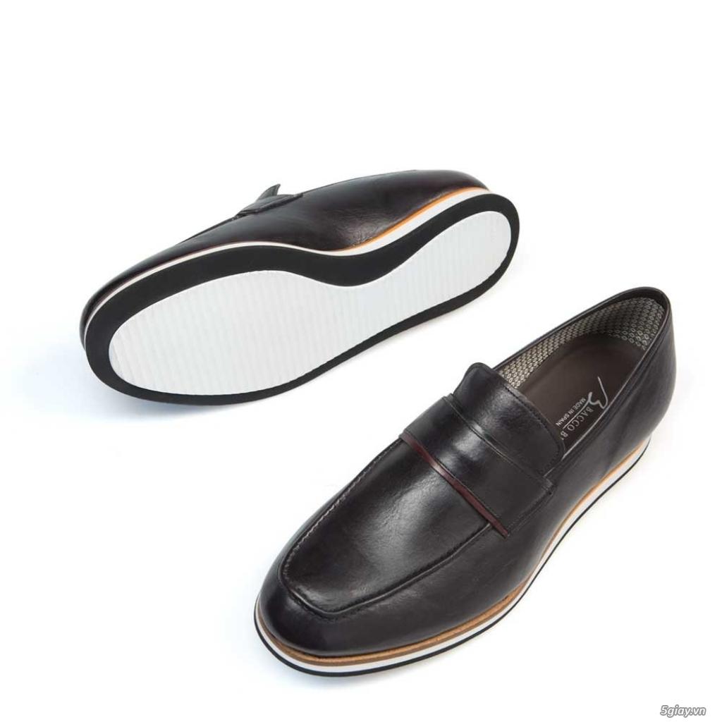 Giày nam da bê hàng hiệu Bacco bucci chính hãng giá tốt. - 5