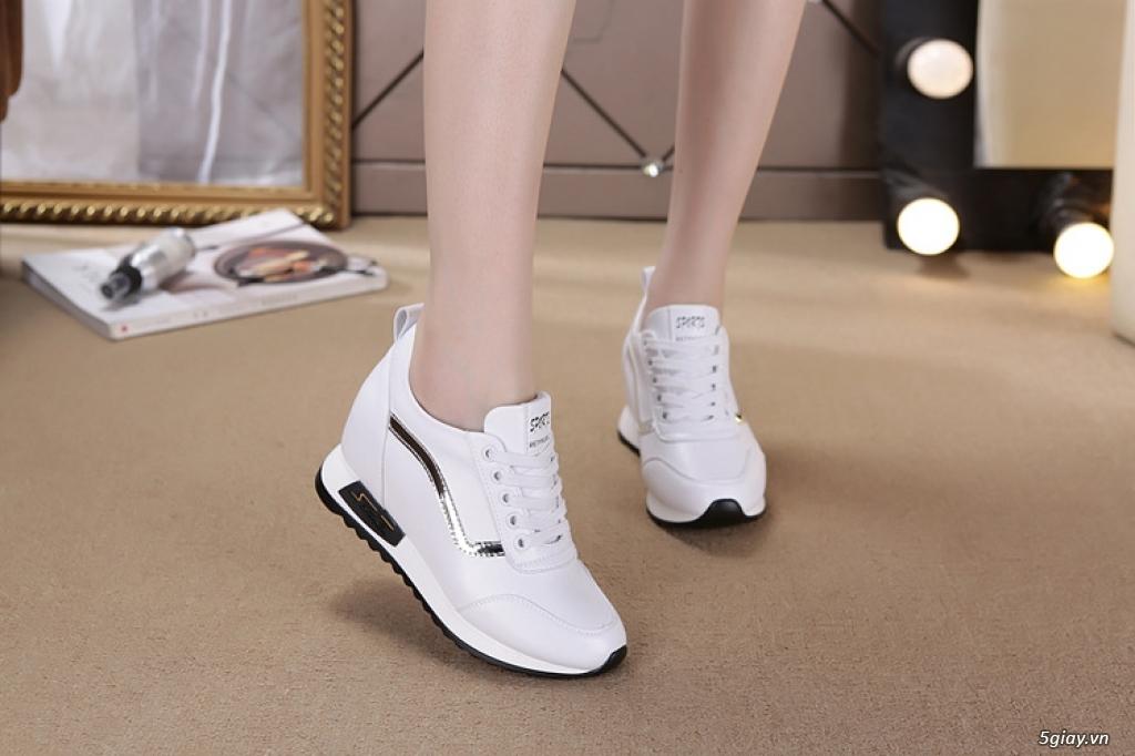 Giày nữ tăng chiều cao chất lượng tphcm