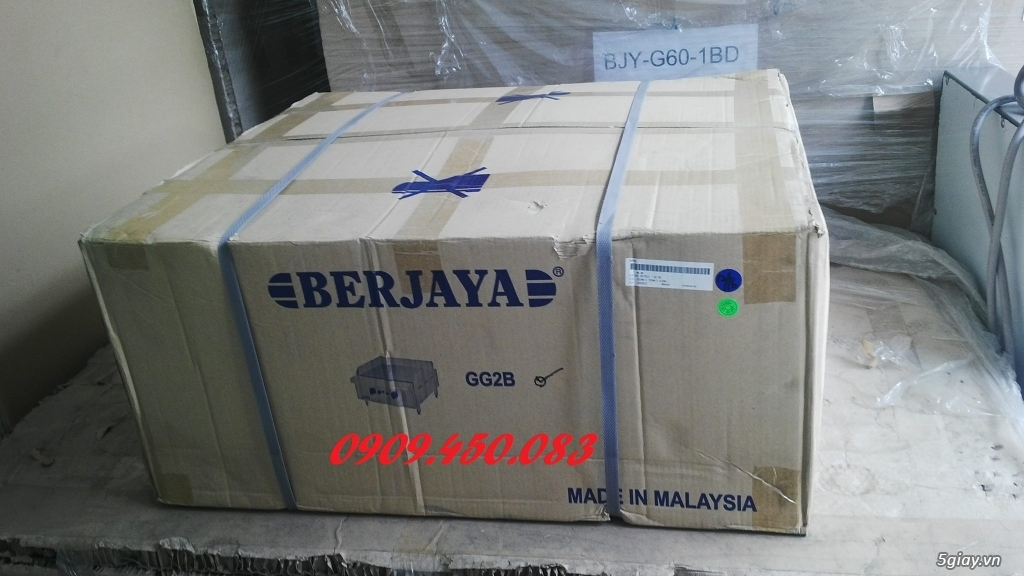 Bếp-chiên-mặt-phẳng-GG2B - 2 họng bếp - Full inox - 3