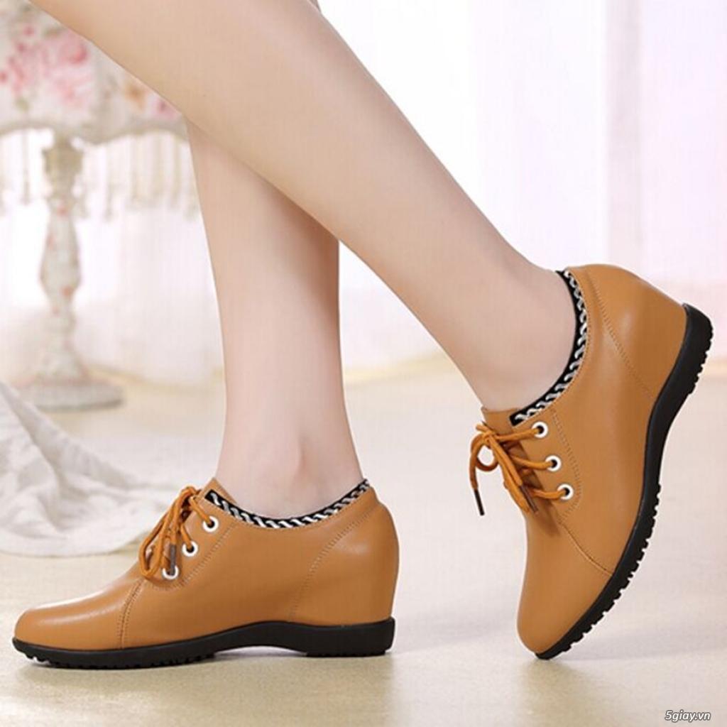 Giày nữ tăng chiều cao chất lượng tphcm - 9