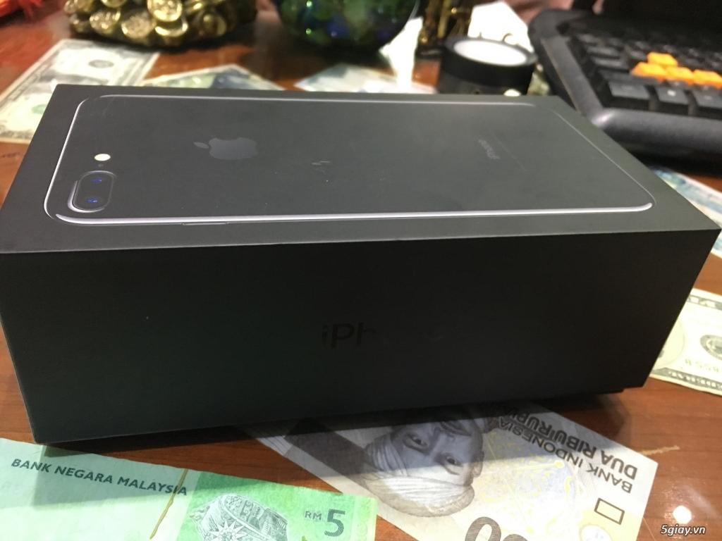 Bán iPhone 7 Plus 128G Đen Bóng Quốc Tế Đẹp Như Mới Full Box Zin All