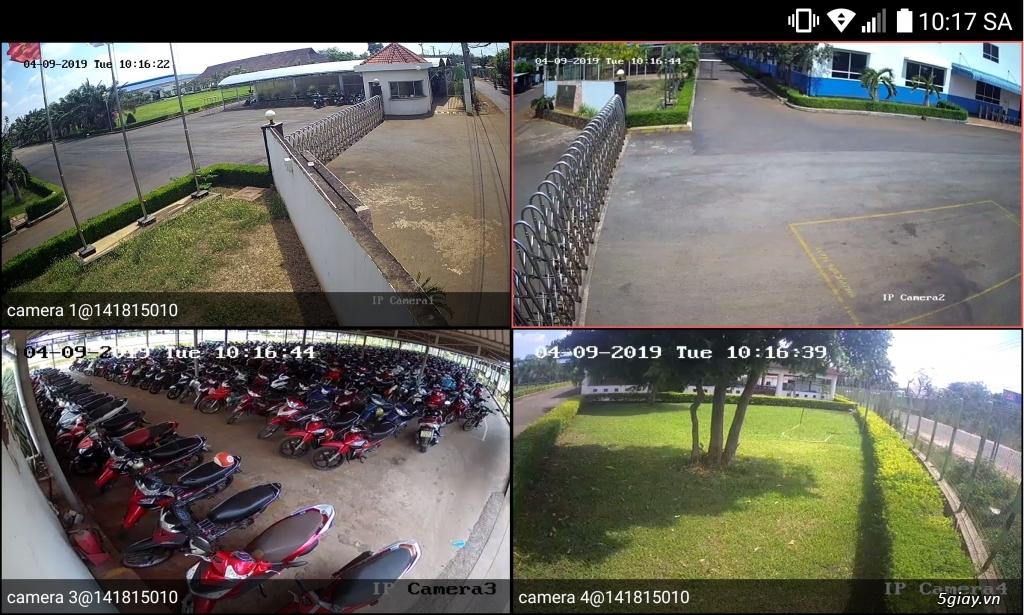 Trọn bộ 4 Camera 2mp DAHUA giá chỉ 3,5tr - 4