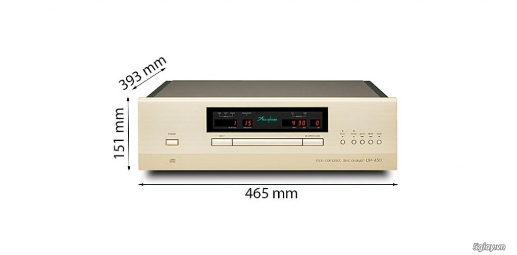 Bán Đầu, Ampli Accuphase chính hãng giá tốt chỉ có tại Audio Hà Nội