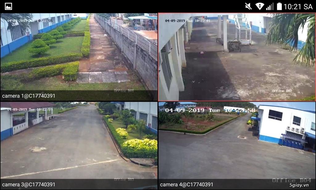 Trọn bộ 4 Camera 2mp DAHUA giá chỉ 3,5tr - 1