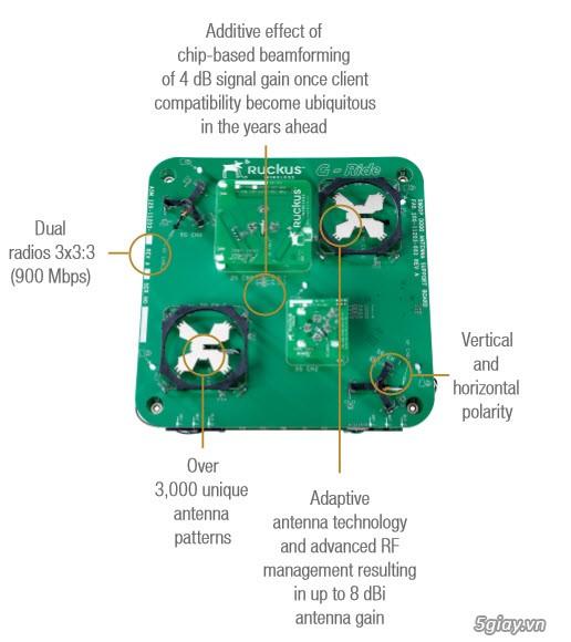 Thiết bị phát sóng Wifi cao cấp Ruckus 7982 (Siêu bền, Siêu chịu tải) - 1