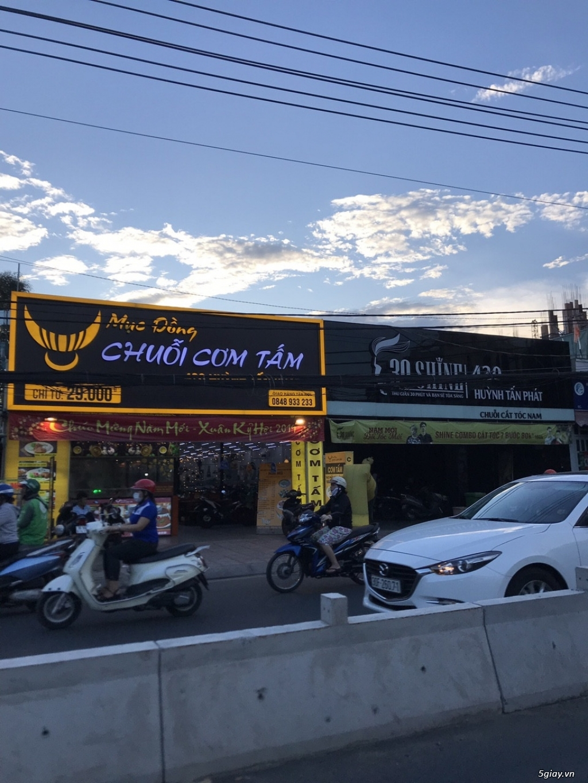 Đất 15*40 mặt tiền Huỳnh Tấn Phát Bình Thuận Quận 7