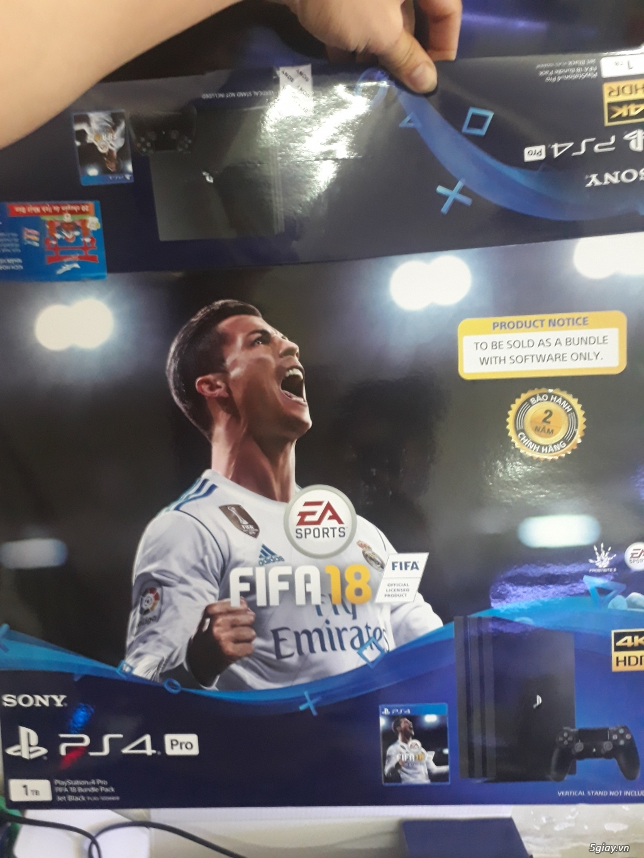 Máy game PS4 Pro 1Tb chính hãng - 1