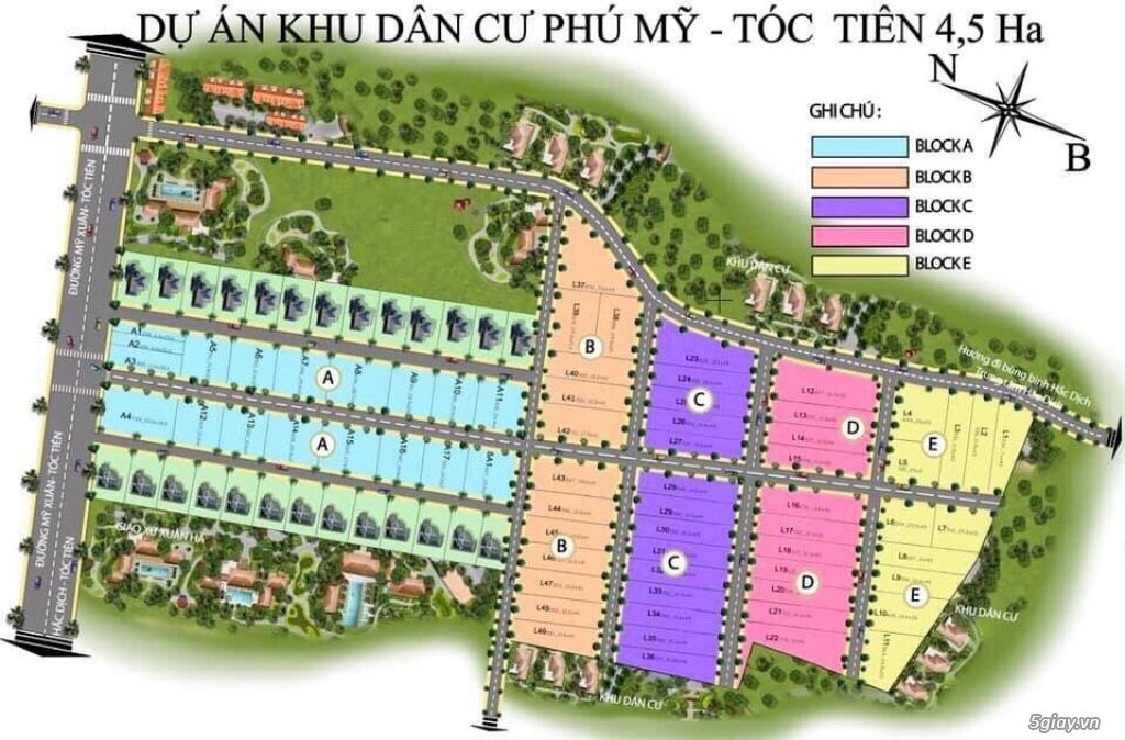 Đất rộng giá rẻ - Thị xã Phú Mỹ - Thành phố Bà Rịa