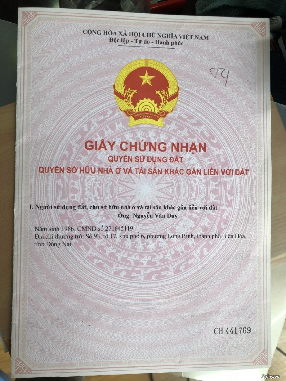 Bán lô đất tiện kinh doanh MT Phùng Hưng, gần chợ An Bình, Trảng Bom. - 3