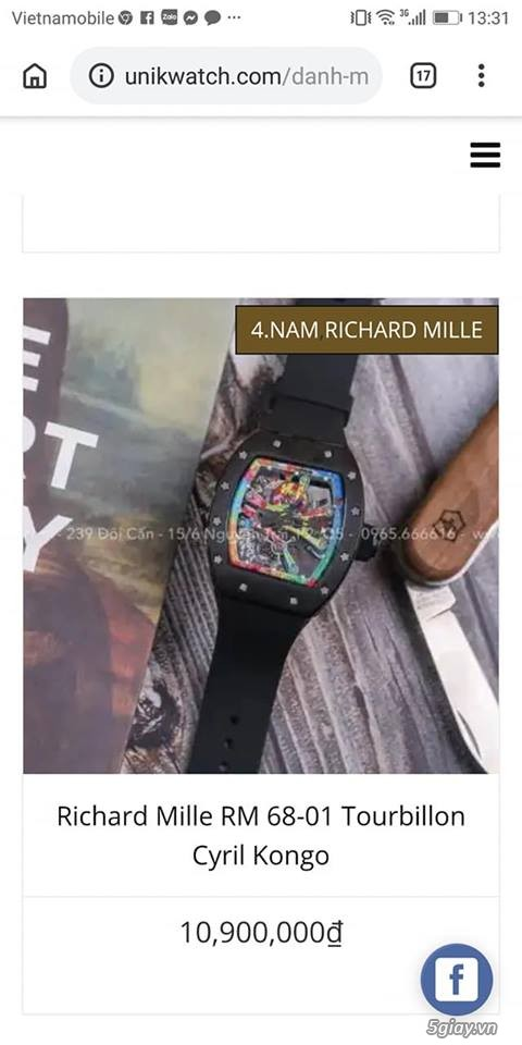 Richard mille RM 68-01 Tourbillon Cyril Congo độc lạ - 4