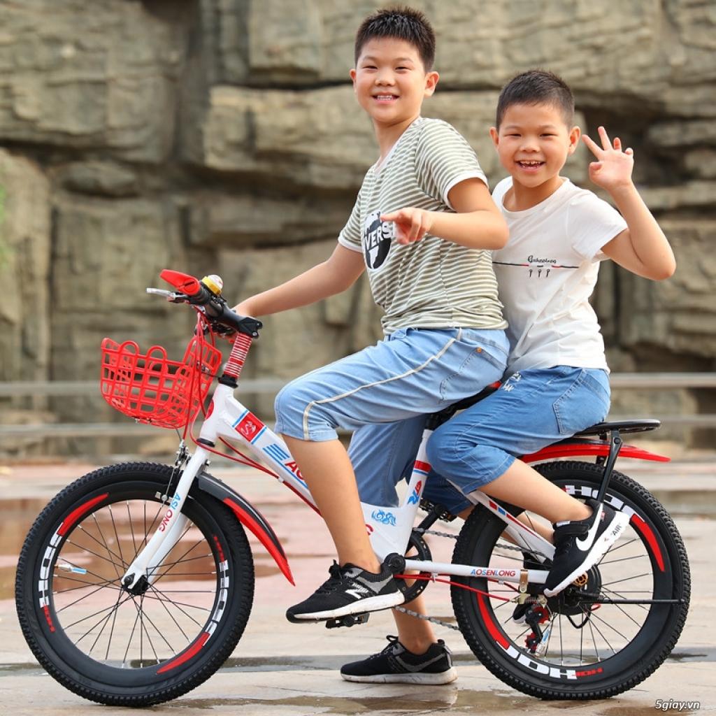 Xe đạp thể thao học sinh nam có đề - 4