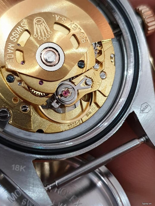 Chuyên Rolex bọc vàng 18k,độ máy chính hãng,kim cương - 12