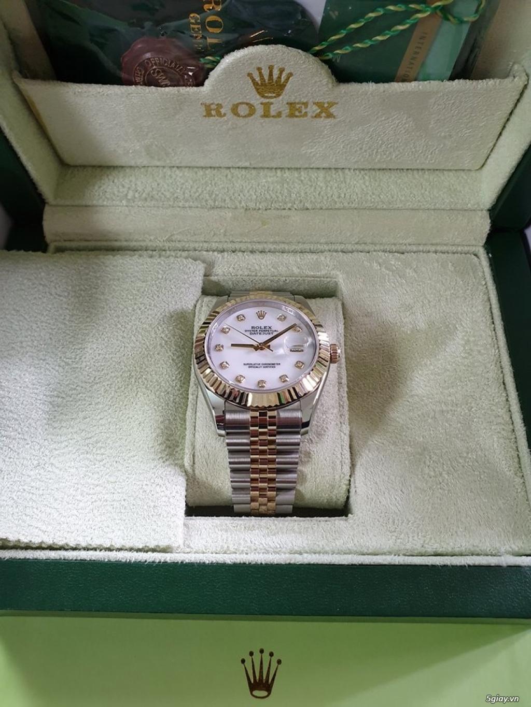 Chuyên Rolex bọc vàng 18k,độ máy chính hãng,kim cương - 19