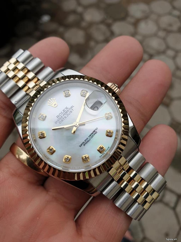 Chuyên Rolex bọc vàng 18k,độ máy chính hãng,kim cương - 3