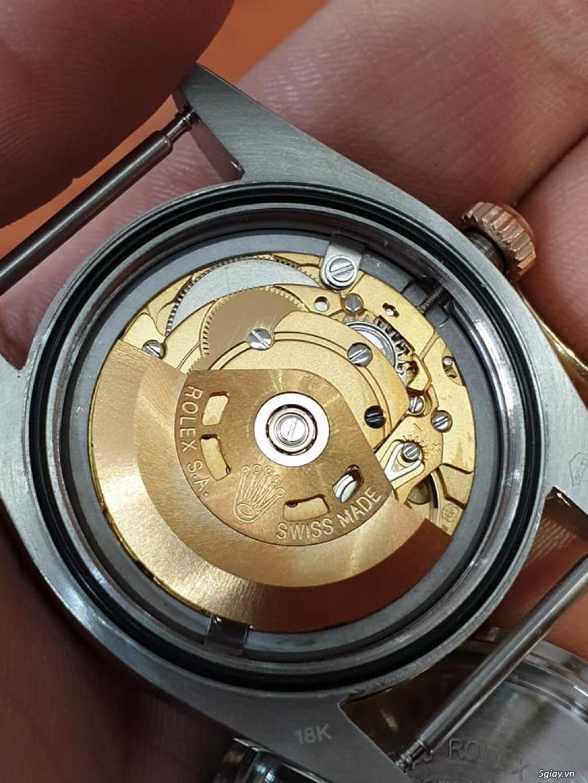 Chuyên Rolex bọc vàng 18k,độ máy chính hãng,kim cương - 14