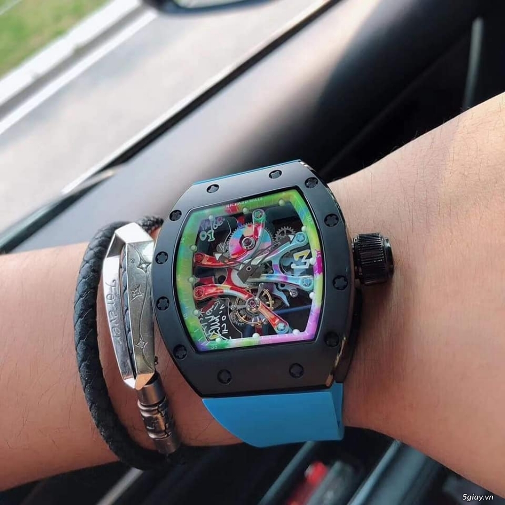 Richard mille RM 68-01 Tourbillon Cyril Congo độc lạ - 1