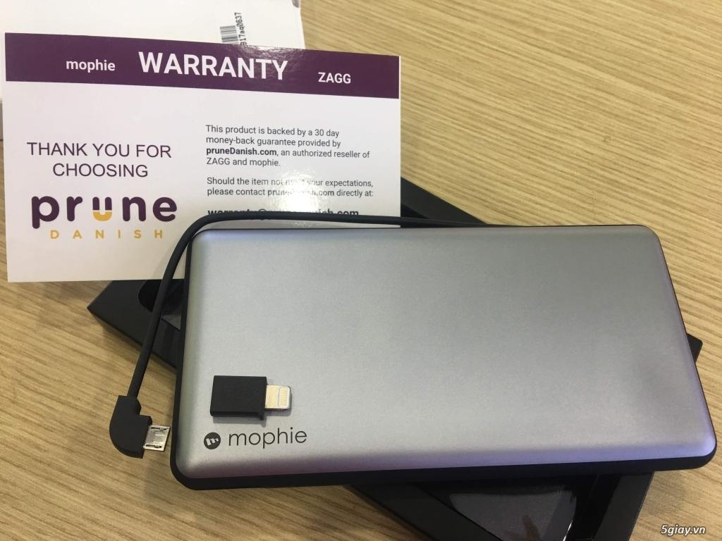 Pin dư phòng cao cấp Mophie PowerStation Plus XL 12000mAh - 2