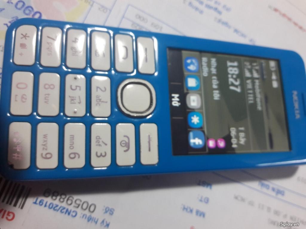 Nokia 206 bị 1 sọc ngang màn hình, nghe gọi ok tốt đẹp, chữa cháy