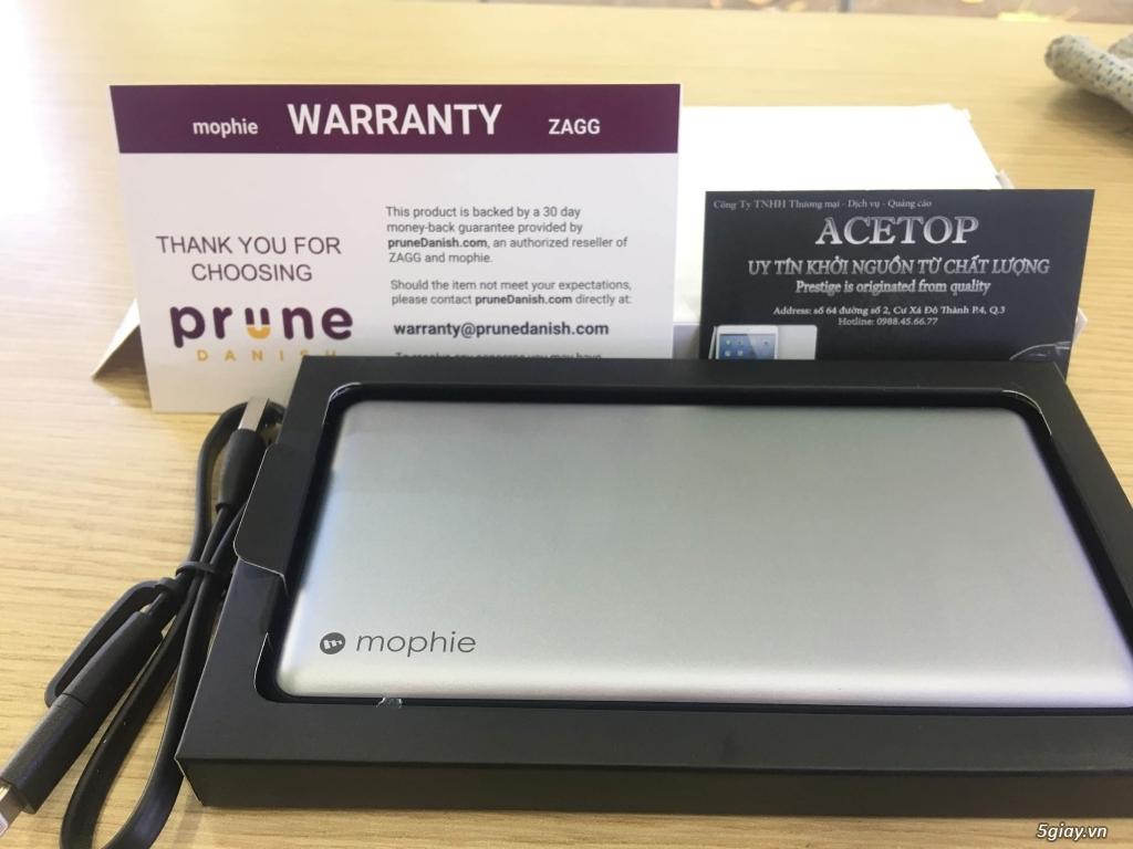 Pin dư phòng cao cấp Mophie PowerStation Plus XL 12000mAh