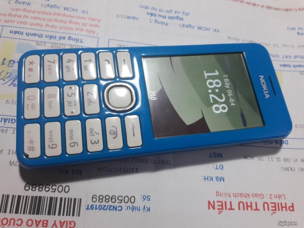 Nokia 206 bị 1 sọc ngang màn hình, nghe gọi ok tốt đẹp, chữa cháy - 1