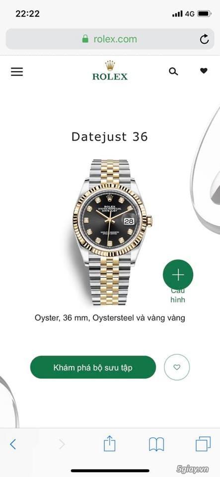 Chuyên Rolex bọc vàng 18k,độ máy chính hãng,kim cương - 47