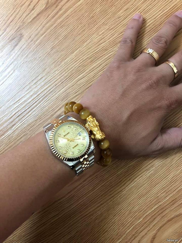 Chuyên Rolex bọc vàng 18k,độ máy chính hãng,kim cương - 29