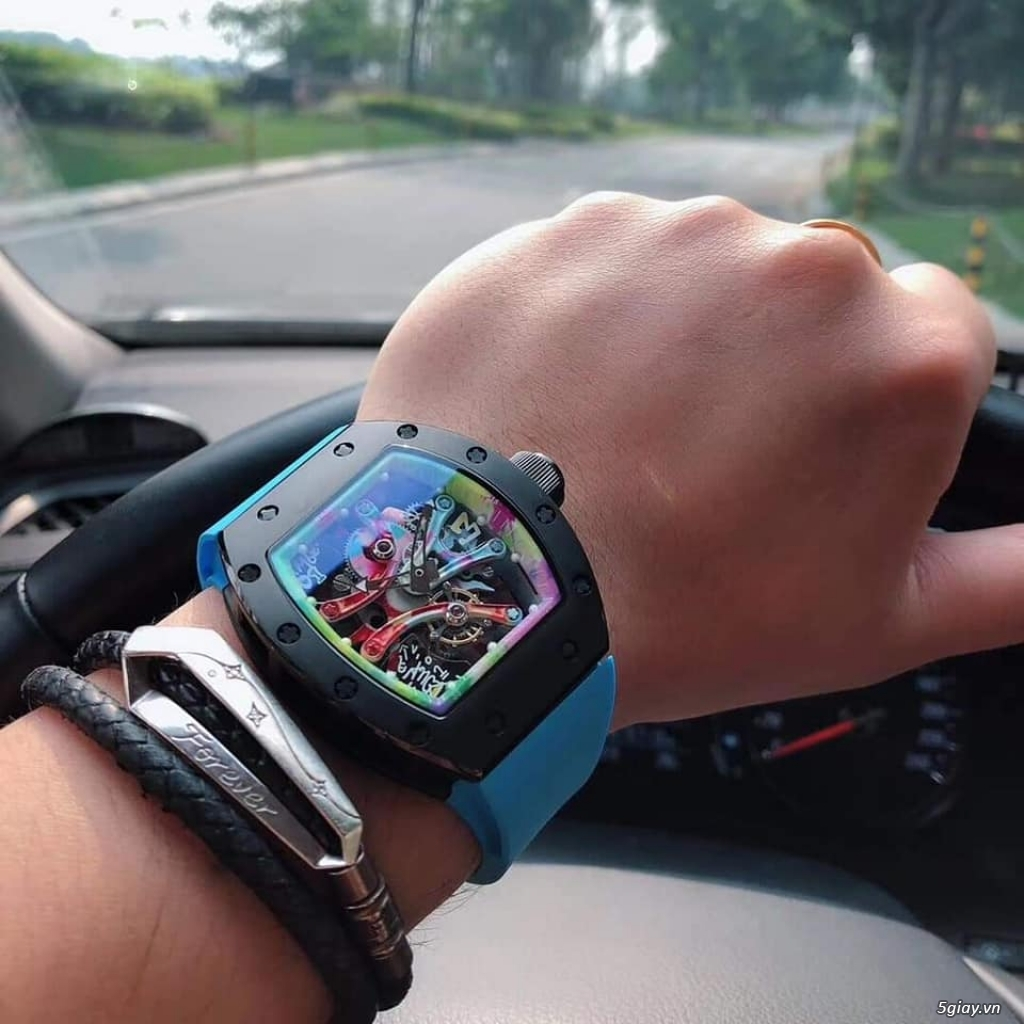 Richard mille RM 68-01 Tourbillon Cyril Congo độc lạ - 2