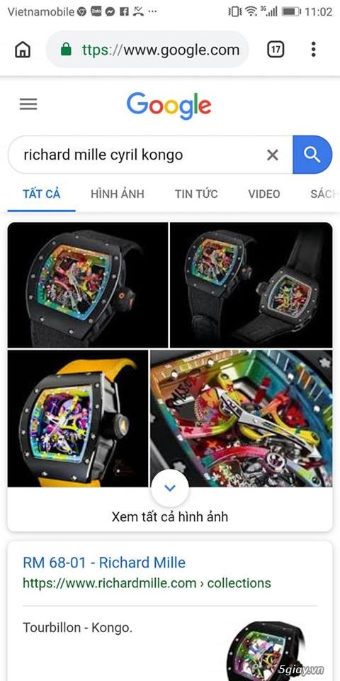 Richard mille RM 68-01 Tourbillon Cyril Congo độc lạ - 3