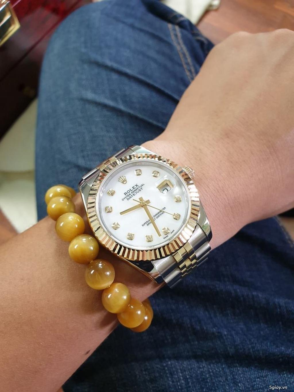 Chuyên Rolex bọc vàng 18k,độ máy chính hãng,kim cương - 18