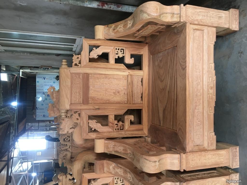 Bán salon sơn thuỷ chân vuông đồng kỵ - 11