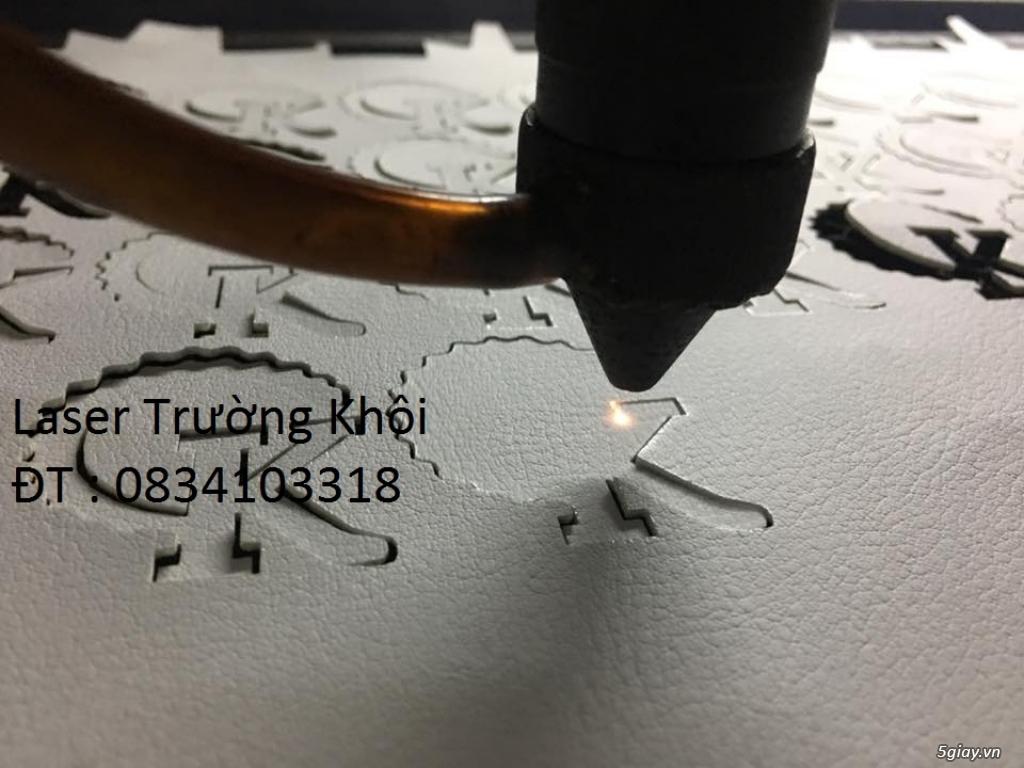 cắt khắc da, vải bằng tia laser giá rẻ nhất khu vực