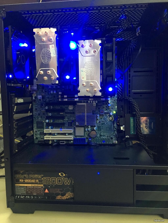 HCM Bộ dual xeon X5650, ram 32gb - vozForums
