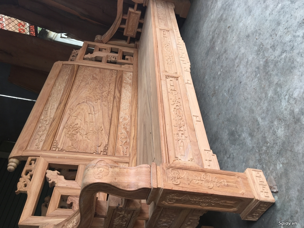 Bán salon sơn thuỷ chân vuông đồng kỵ - 9