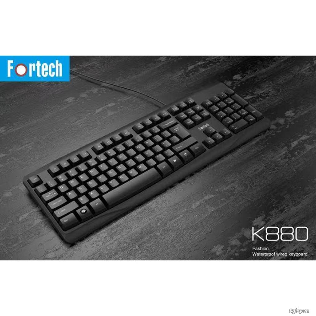 Bàn phím có dây Fortech K880 USB